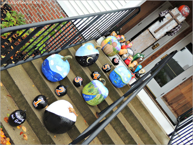 Calabazas Decoradas para Halloween: Creación del Mundo en 7 Días