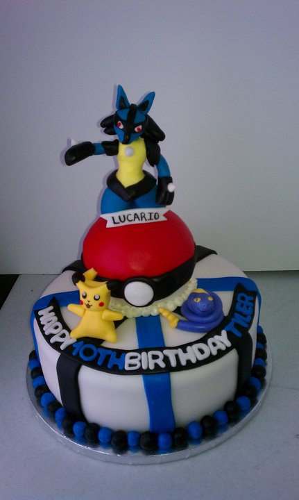 This Was The Weekend Of Pokemon Cakes Top Cake Done For A 6 Year Old Boy Who Loves Second 10