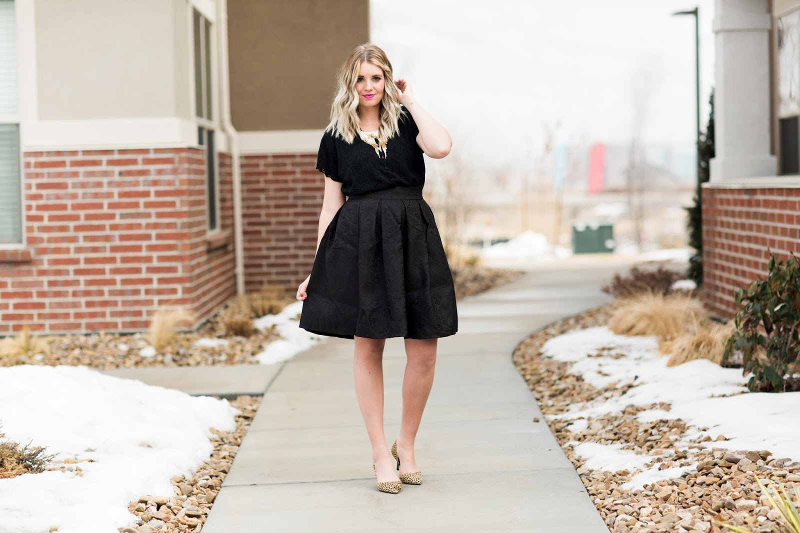 Tara Lynn's, Sole Society, All Black, Utah Fashion Blogger