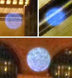 aligning blue orbs