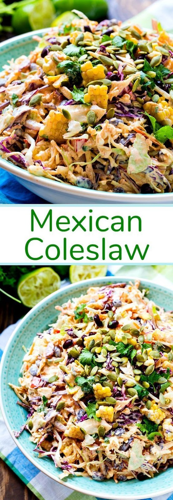 Keto Mexican Coleslaw
