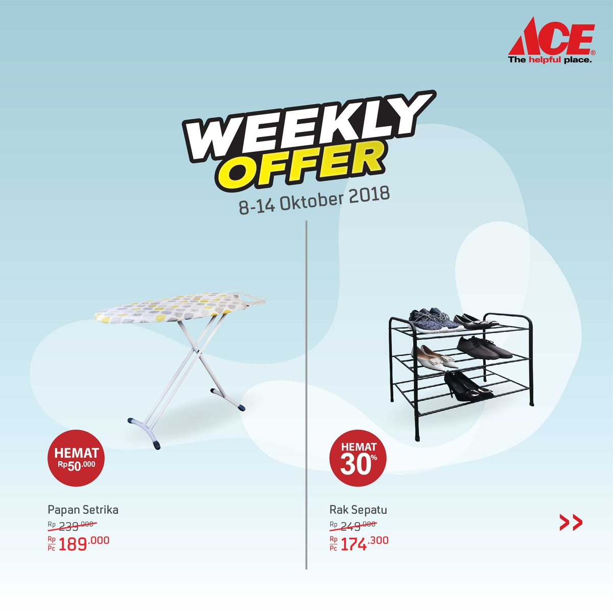 AceHardware - Promo Weekly Offer Periode 08 -14 Okt 2018