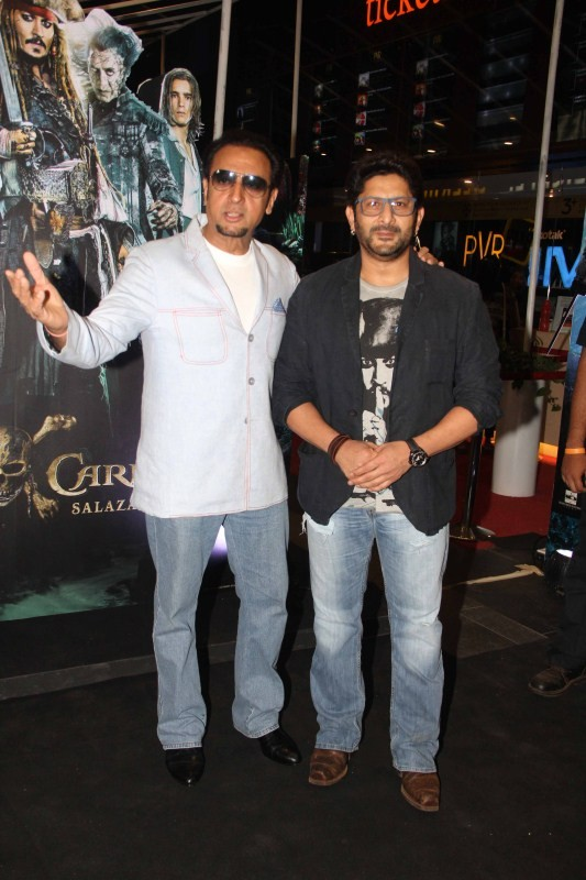 Arshad Warsi, Gulshan Grover and Neha Bhasin at The Caribbean: Salazar's Revenge Special Screening
