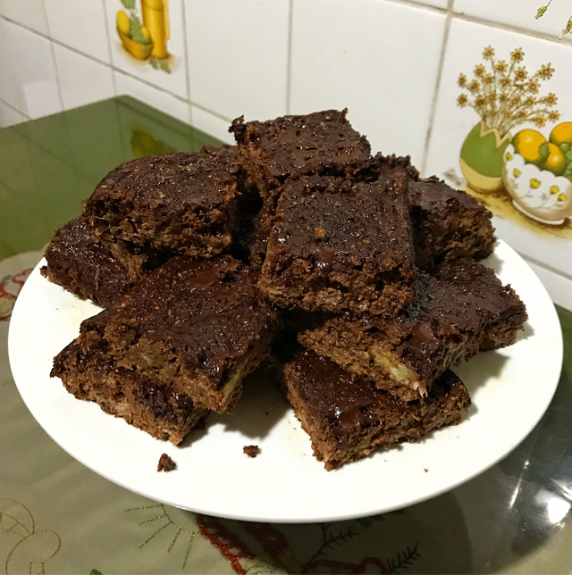 BROWNIES SALUDABLES