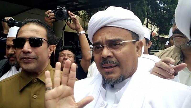 Habib Rizieq Syihab tersandung kasus pornografi