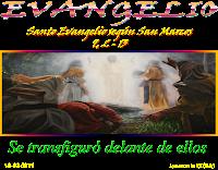 Resultado de imagen para EN aquel tiempo, Jesús tomó consigo a Pedro, a Santiago