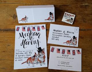 Bespoke Wedding Stationery set by Alice Draws The Line