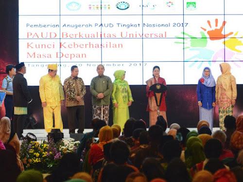 Penghargaan pengelola PAUD 2018 Tingkat Nasional