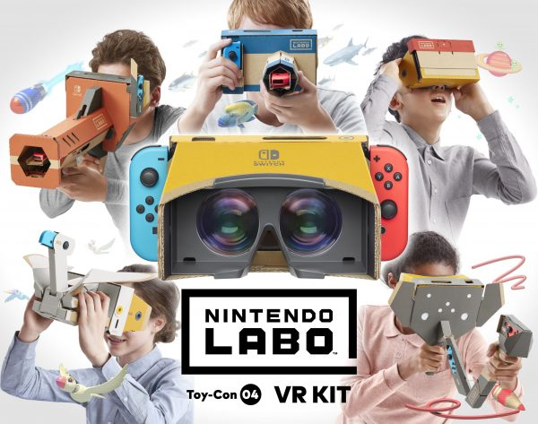 Nintendo announced the Labo VR Kit to switch