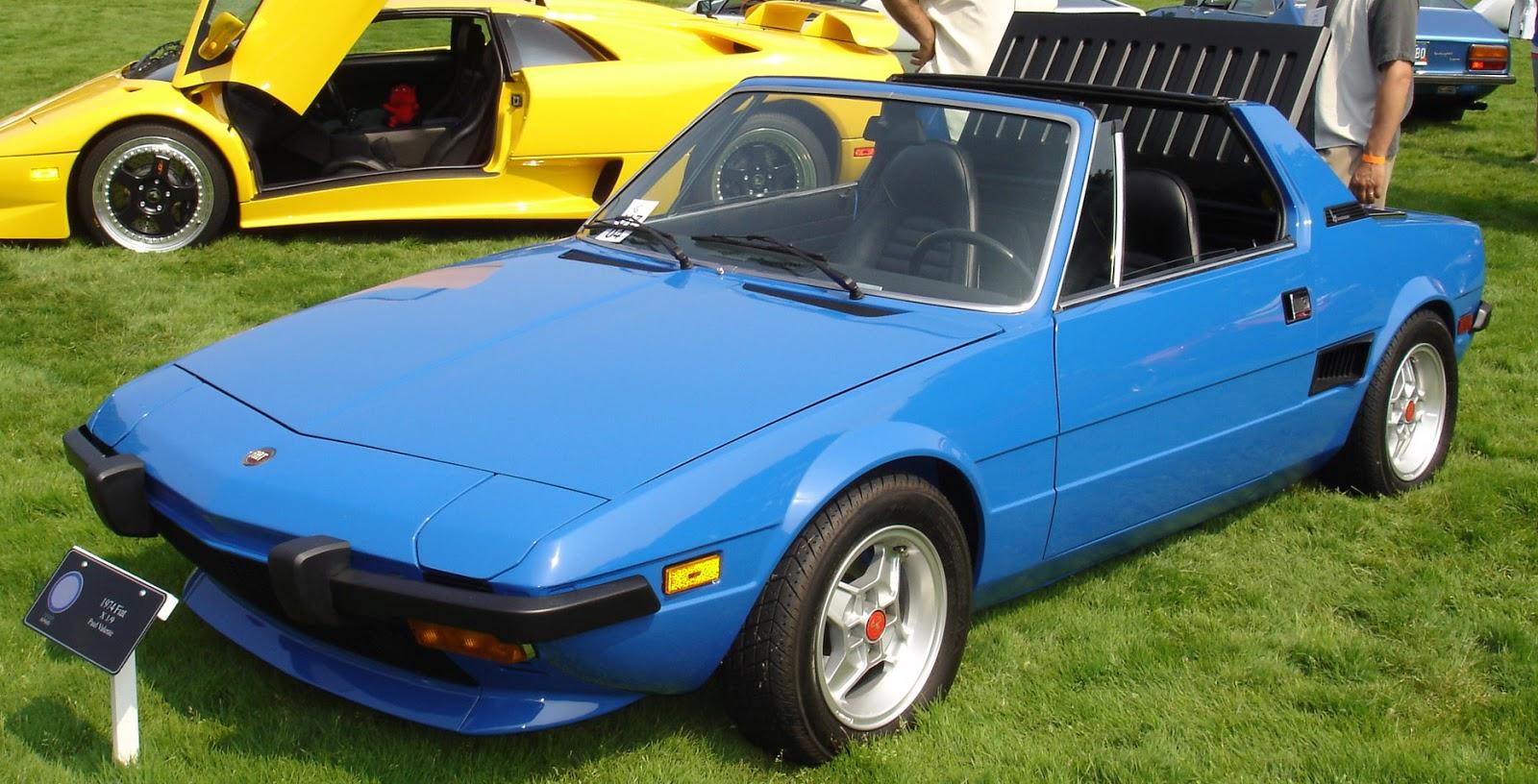1974 FiatX1.9 Φέρτε πίσω τα pop ups: 12 πάμφθηνα αυτοκίνητα που τα χουν Fiat X1/9, Honda, Lotus, mazda mx-5, Mazda RX-7, Mitsubishi 3000GT, Nissan 200SX, pop ups, Porsche, Toyota, Toyota AE86, Toyota MR2, zblog, μεταχειρισμένα, φανάρια ανακλινόμενα
