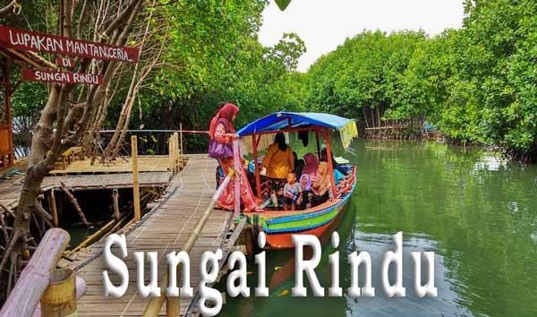 Liburan Akhir Tahun, Sungai Rindu Ramai Dikunjungi Wisatawan