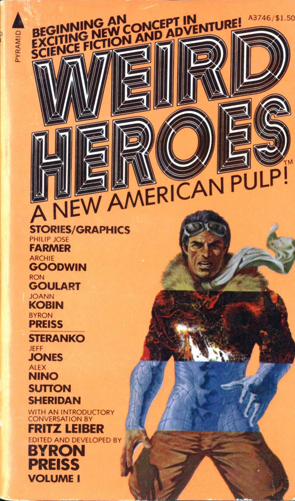 WEIRD HEROES VOLUME 1 Editied & Developed by Byron Preiss!