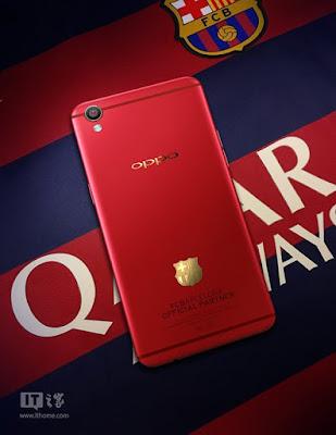 Oppo F1 Plus FC Barcelona