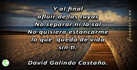 Versos de amor -  David Galindo Castaño