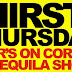 Thirsty Thursday Party, Memorial Day Weekend, Thursday May 25th 10PM