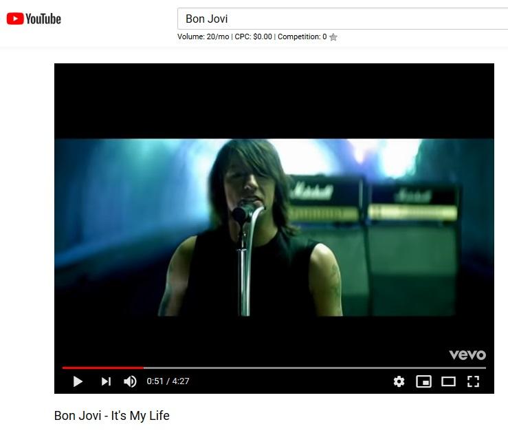 Cara Download Video Youtube Jadi Mp3 Bon Jovi - It's My Life