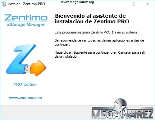 Zentimo xStorage Manager 1.9 imagenes