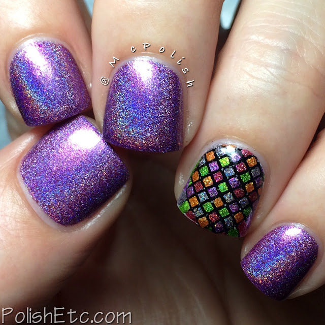Pahlish - Happy Holo-Ween II - McPolish - Cotton Candy Creature