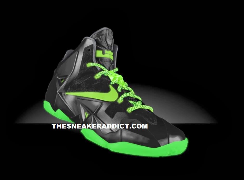 the best attitude 4a839 37e76 THE SNEAKER ADDICT  NIKEiD Lebron 11 XI Sneaker (Preview .