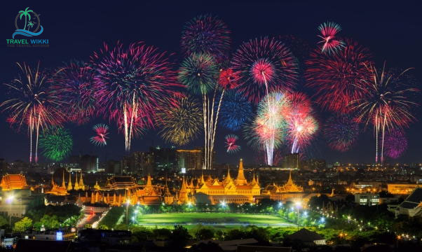 Bangkok at new year