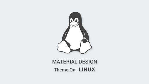 Cara instal Flat-Plat Material Design theme di Linux