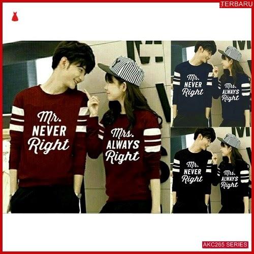 AKC265S140 Sweater Couple Right Anak 265S140 Pasangan BMGShop