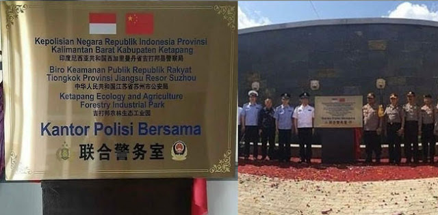 Kapolres Ketapang Dicopot karena 'Kantor Polisi Bersama China'