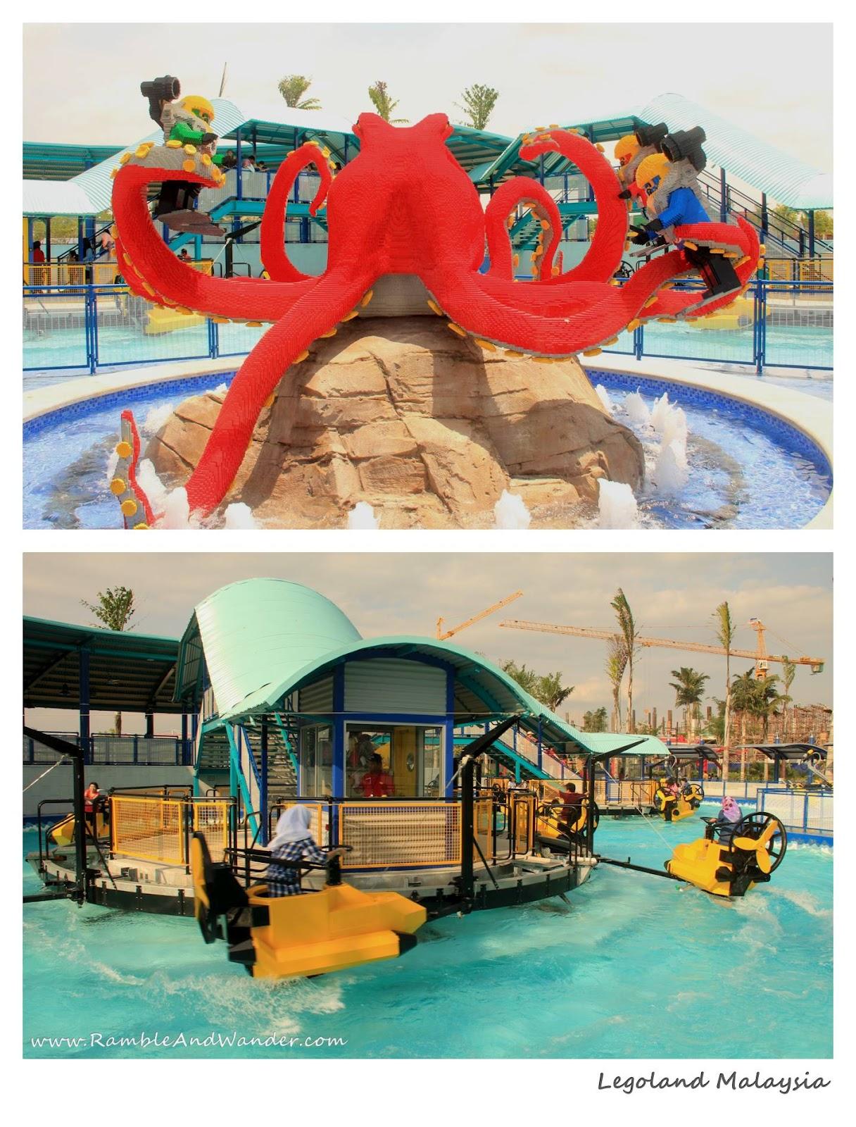 Malaysia Legoland Ramble And Wander Tiket Johor Bahru Theme Park Dan Water Click On Each Photo For A Larger Image