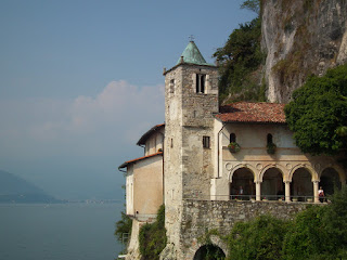 The Hermitage is at Dario Fo's home town of Leggiuno