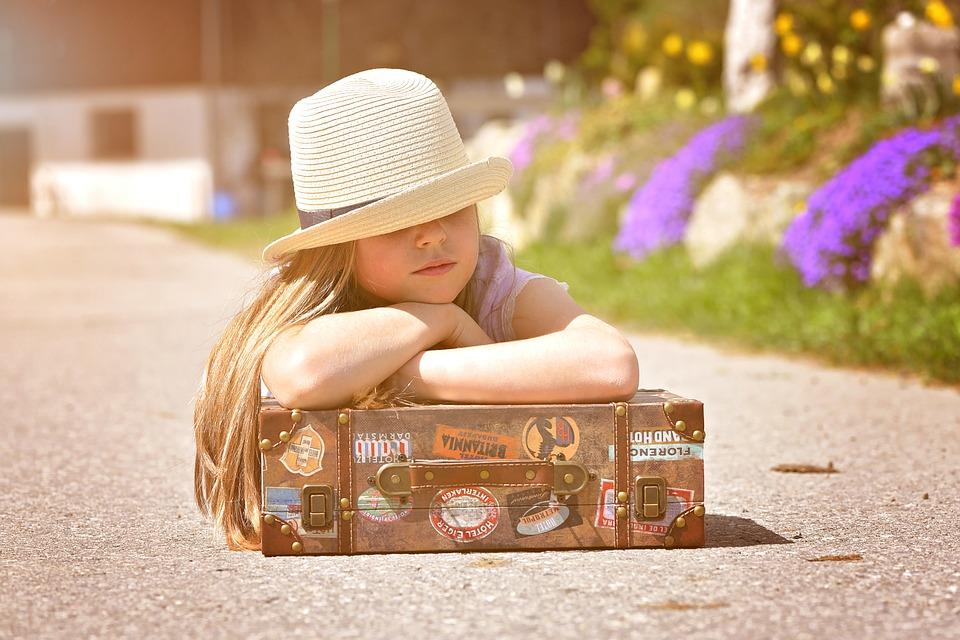 Como organizar las maletas de los niños