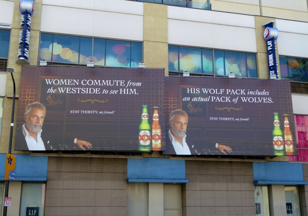 Dos Equis beer billboards