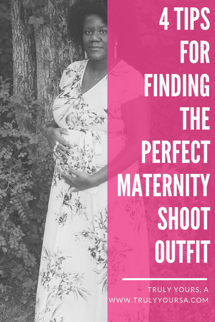 Finding the perfect maternity photo shoot outfit can be stressful, but it doesn't have to be if you know where to shop! Today on Truly Yours, A. I'm sharing a soft and beautiful maternity look from Pink Blush - a trendy online boutique that specializes in maternity clothes. Keep reading for more of this look!