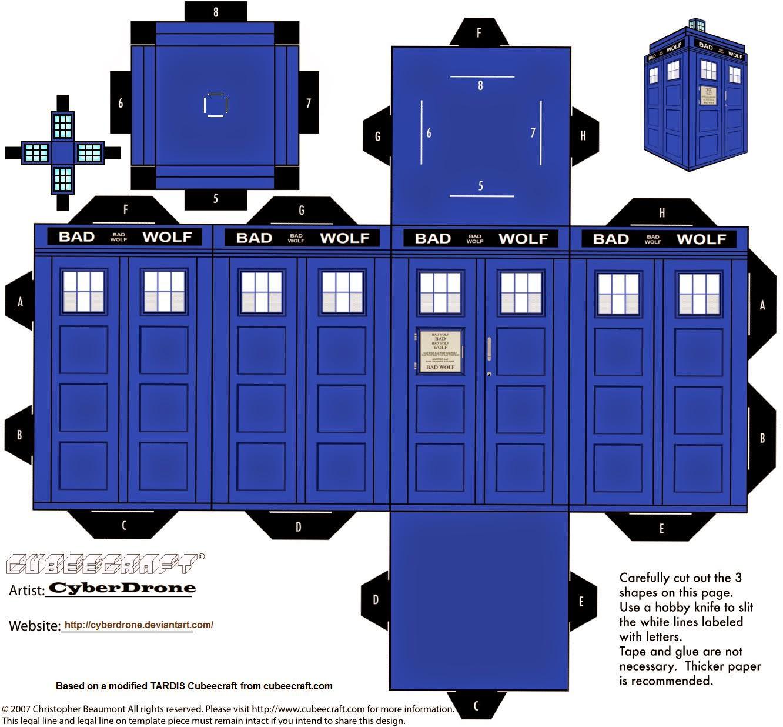 doctor who tardis diy - photo #9