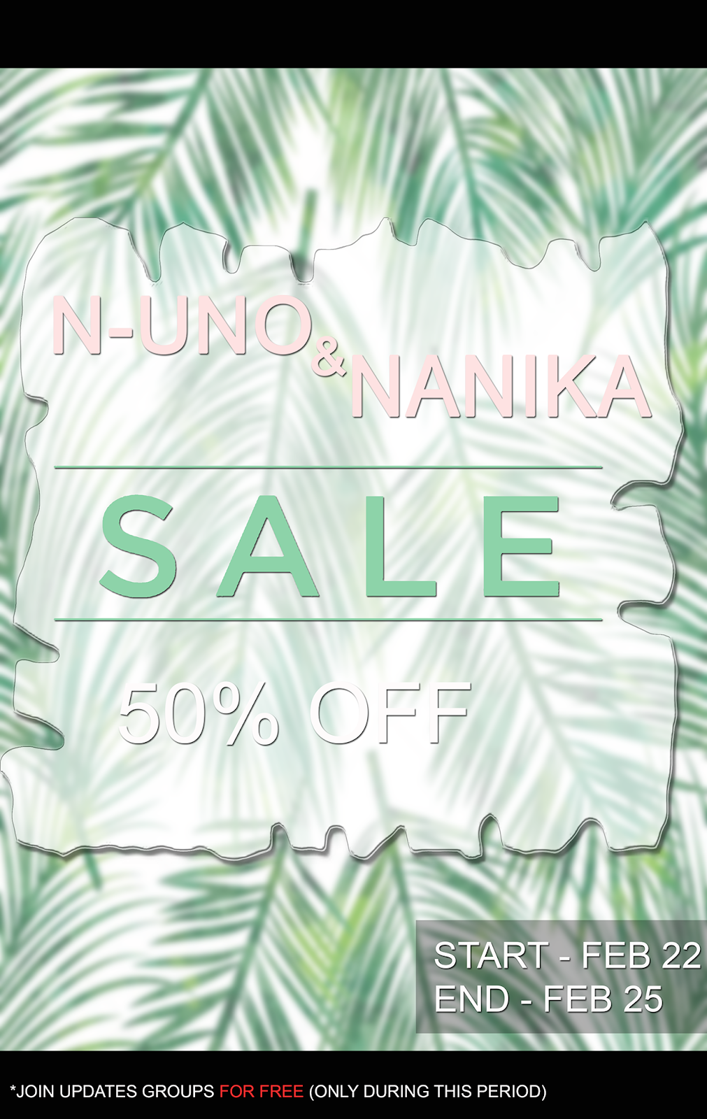 LAST DAY OF N-Uno SALE