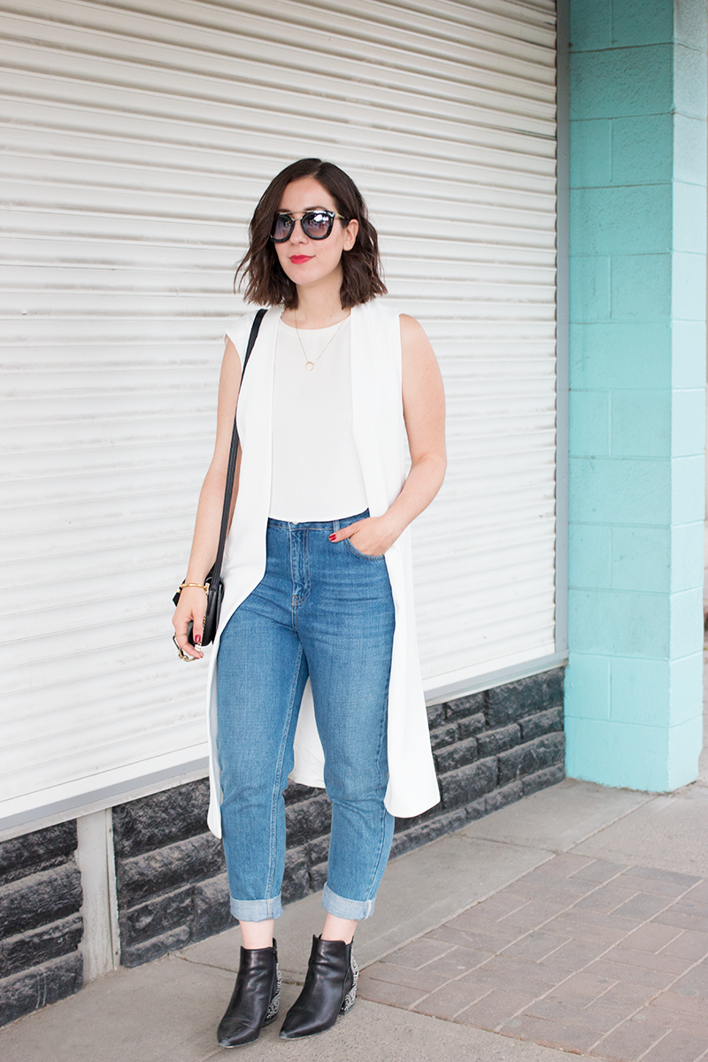 How to Style a Summer Vest