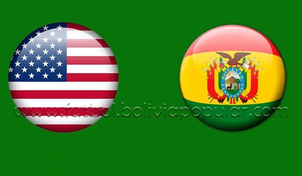 Estados Unidos vs. Bolivia - En Vivo - Online - Amistoso