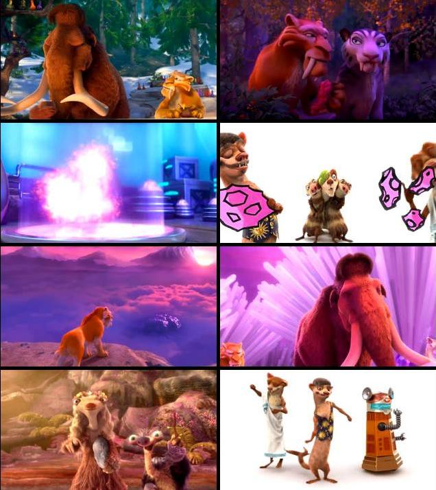 Ice Age Collision Course 2016 English 720p HDRip