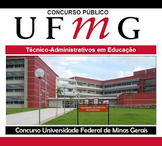 Concurso da UFMG 2019 - Técnico Administrativo