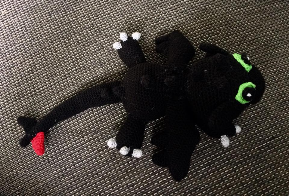 Crochet toothless terrible terror progress part 1 by silvergirl919 ... | 652x960