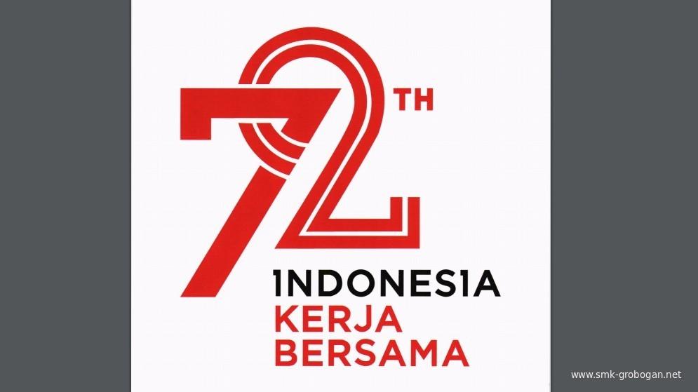 Logo Peringatan Hut Kemerdekaan Ri Ke 72 2017 Komunitas Smk Kabupaten Grobogan