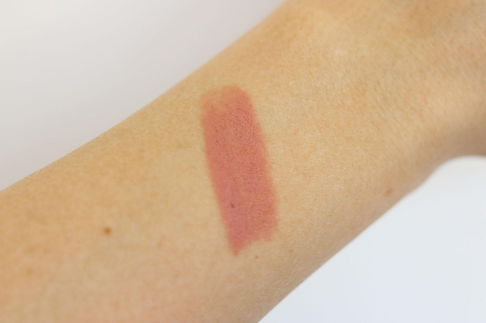 NYX lipstick swatch