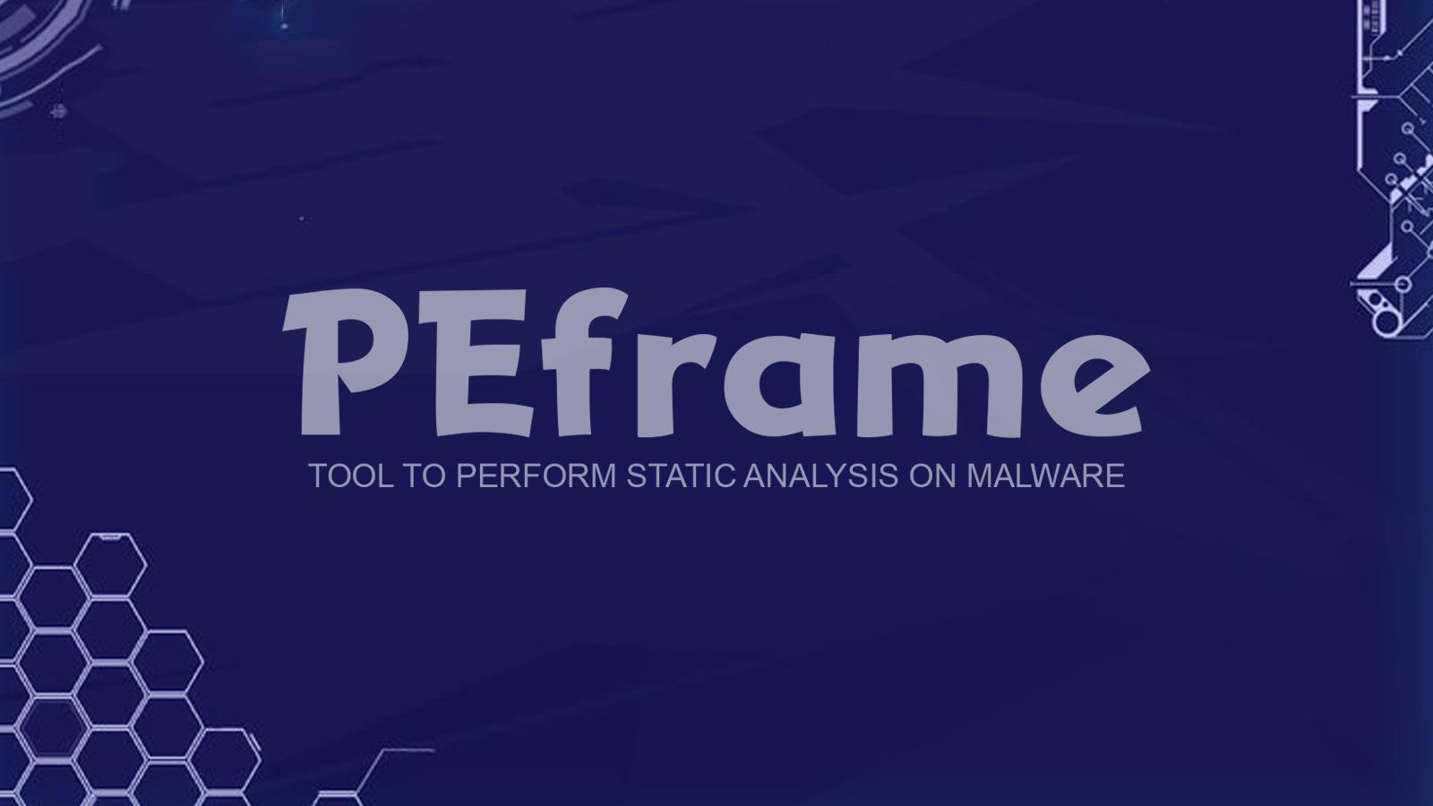 PEframe - Tool To Perform Static Analysis On Malware