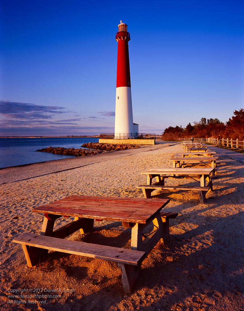a photo of barnegat light lighthouse new jersey shore long beach island
