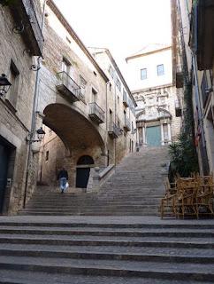 Girona, Pujada de Sant Domènec.