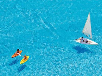 el mejor color de una agua de playa