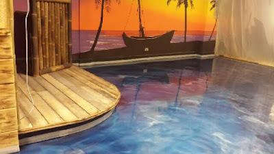 metallic epoxy flooring paint materials