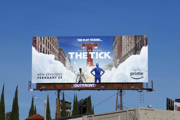 Tick season 1 part 2 billboard