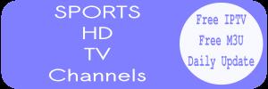 Sports Free IPTV Daily Smart tv Listas