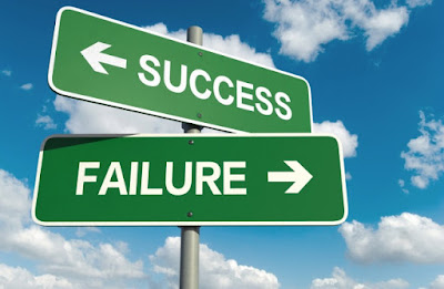 Beda sukses dan gagal