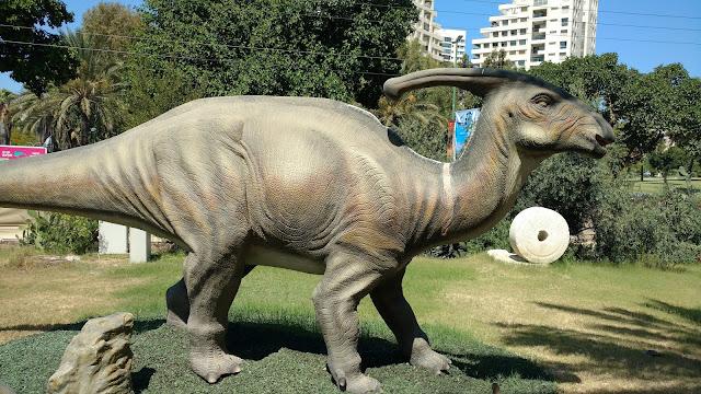 תערוכת עידן הקרח והדינוזאורים רמת אביב